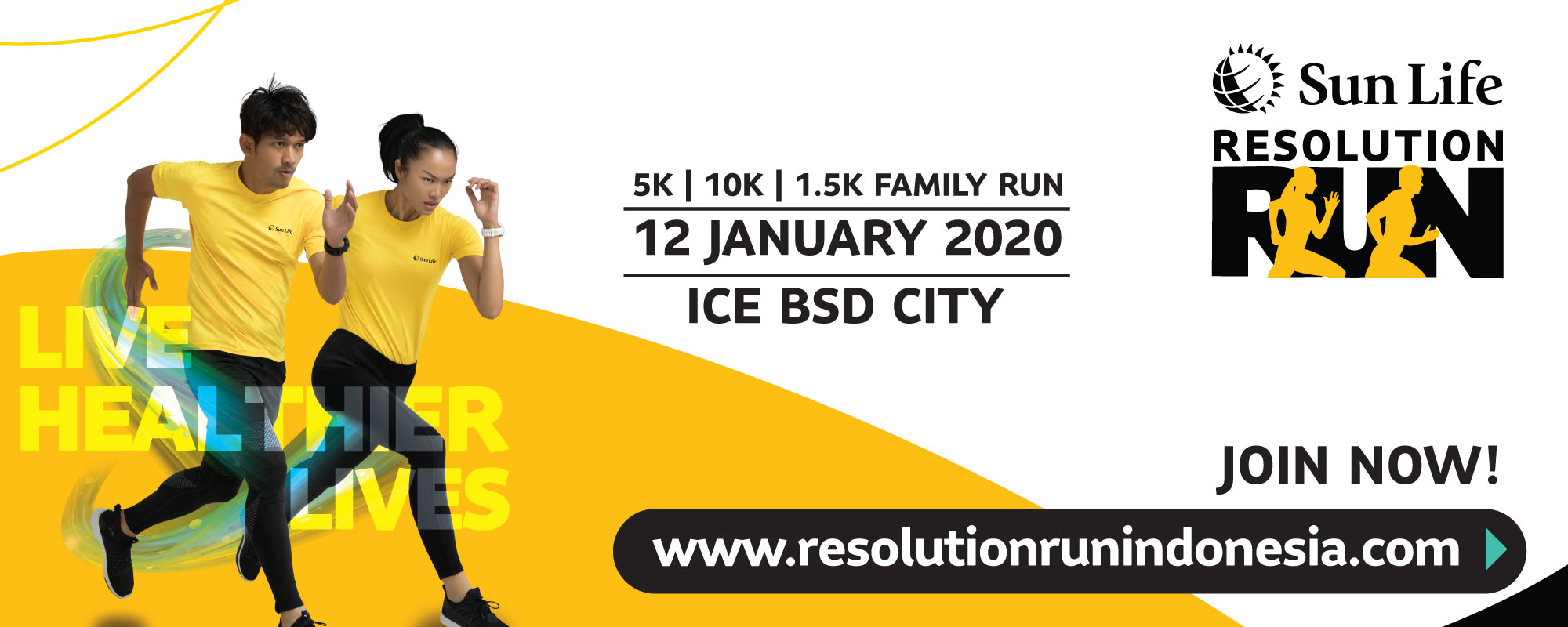 SunLife Resolution Run 2020